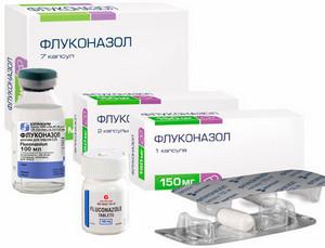 Флуконазол в таблетках и растворах для инъекций