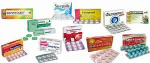 Рассасывающие таблетки при трахеите