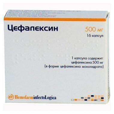 цефалексин при гайморите