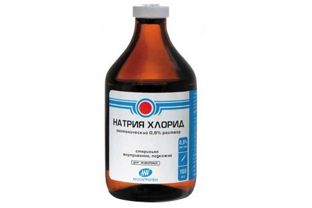 раствор хлорида натрия