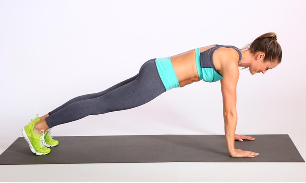 Отжимания упражнения для похудения