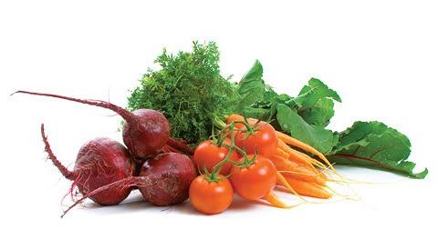Свекла, томаты, морковь