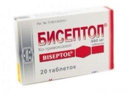 Как принимать Бисептол 480: инструкция по применению таблеток