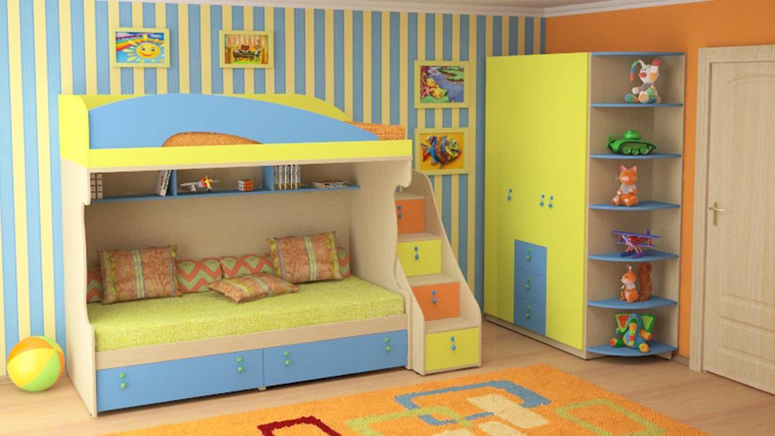 Модульные кровати для детей