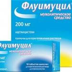 Флуимуцил — современный метод борьбы с ЛОР-инфекциями