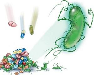 Таблетки борются с болезнетворным микробом