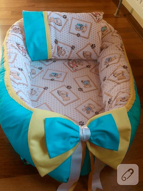 Как сшить кокон гнёздышко для новорожденного ребёнка