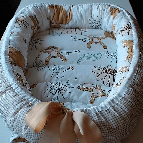 Кокон гнёздышко своими руками с обезъянами