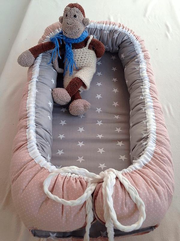 Сшить кокон гнёздышко для новорожденных быстро и просто