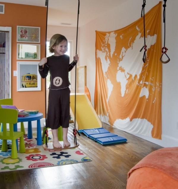 Дизайн детской комнаты к лету фото