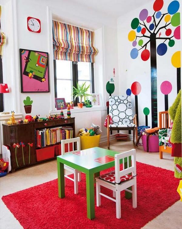 Как преобразить интерьер детской комнаты летом