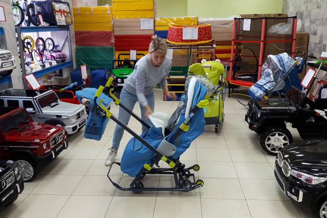 Лучшие санки коляски для детей