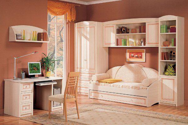 подростковая комната для девочки фото