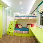 Детская комната для девочек разного возраста