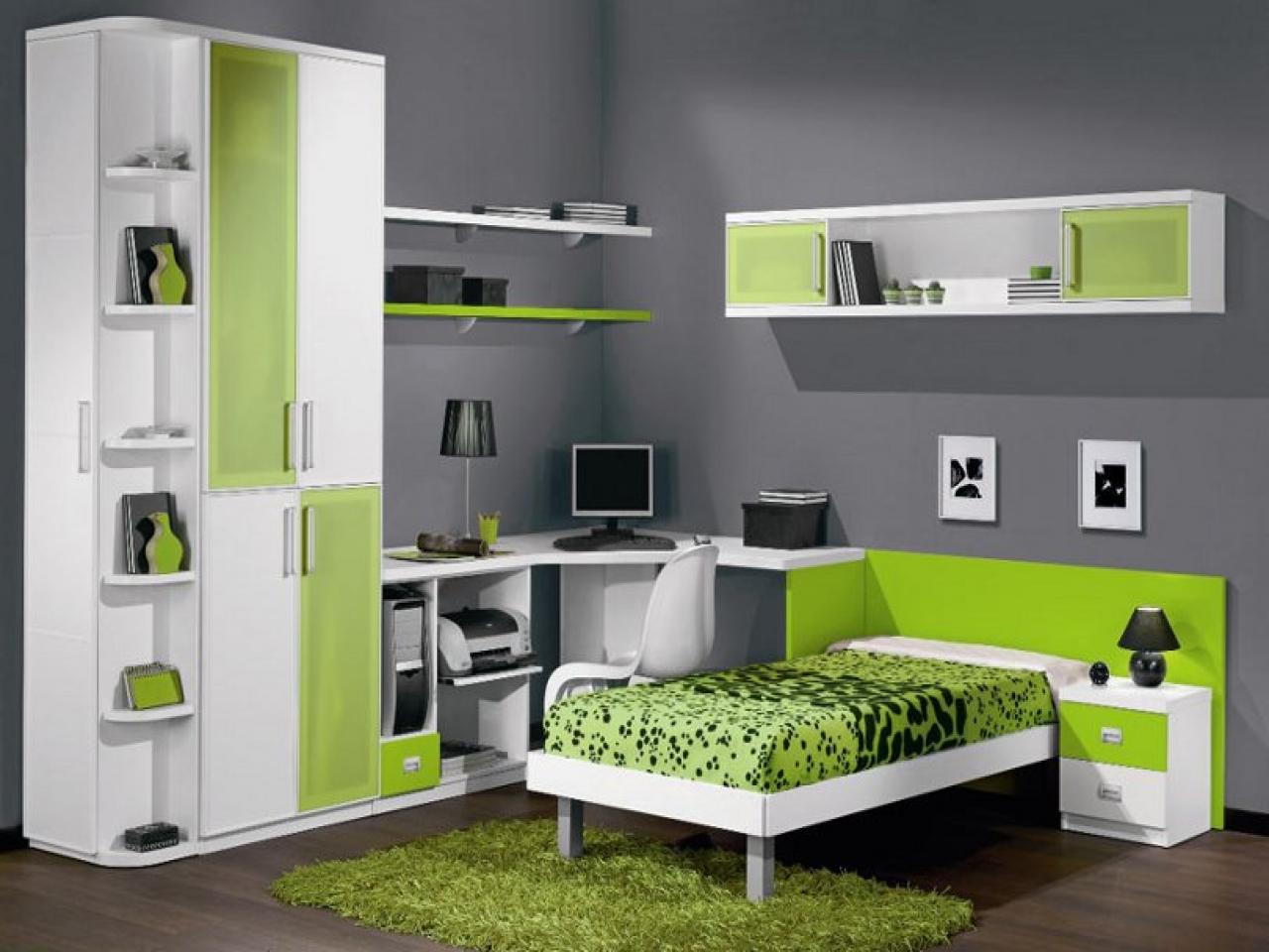 Стильная и функциональная спальня