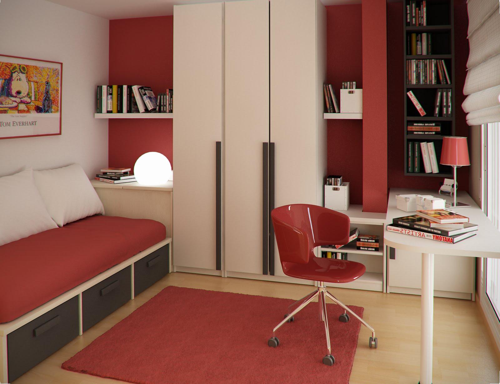 Функциональная мебель для спальни девочки