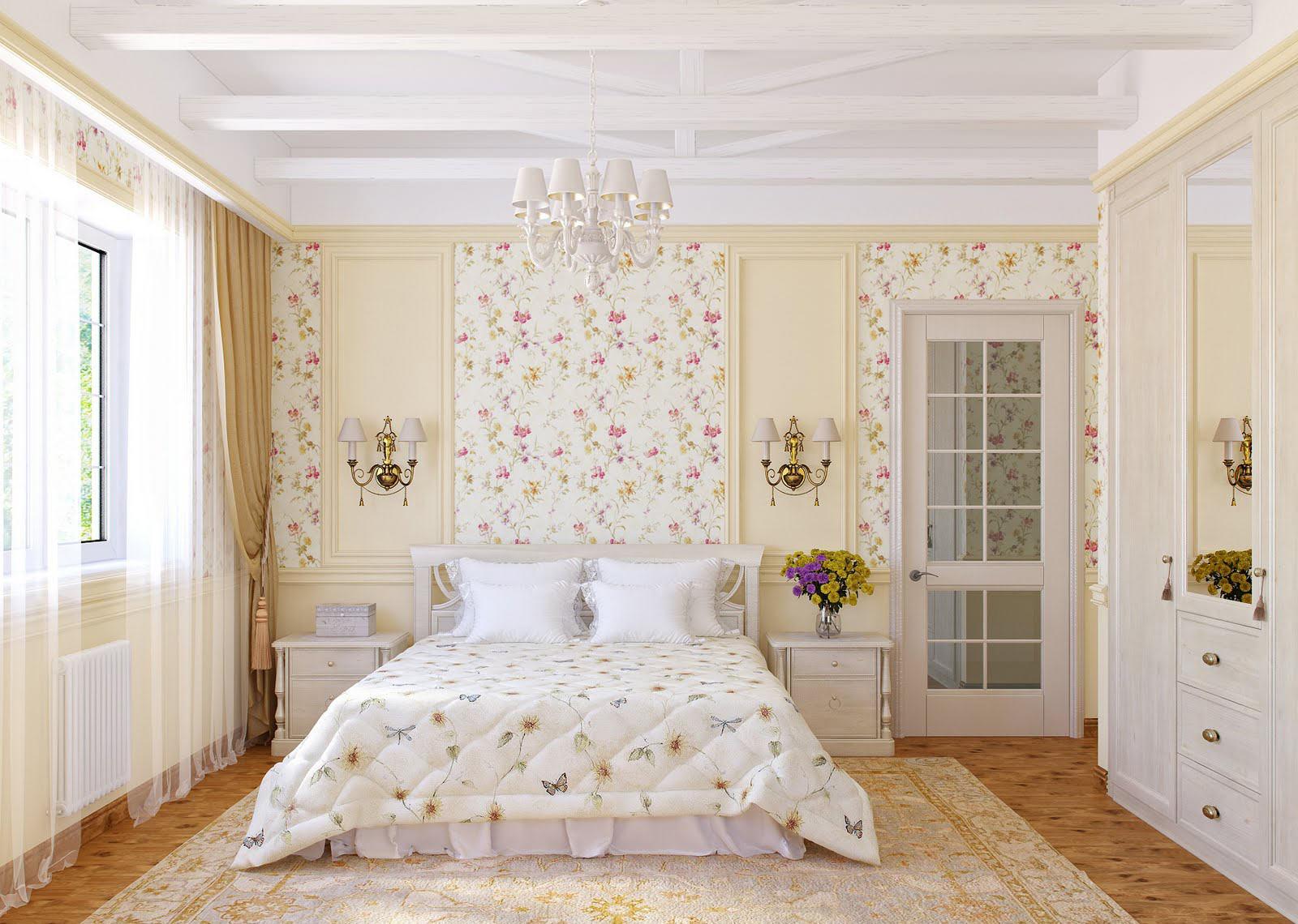 Спальня старшеклассницы в стиле прованс