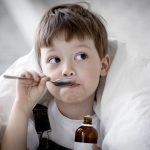 Сухой кашель у ребенка