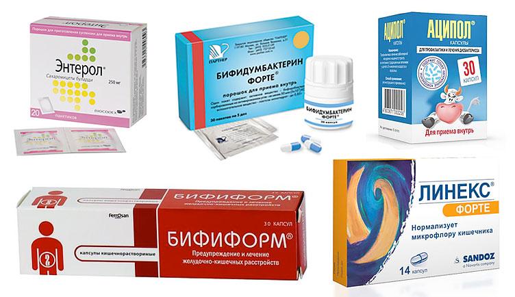 пробиотики и пребиотики для детей