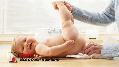 понос у новорожденных