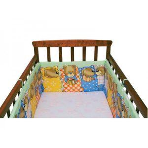 Зачем нужны бортики для детской кроватки?