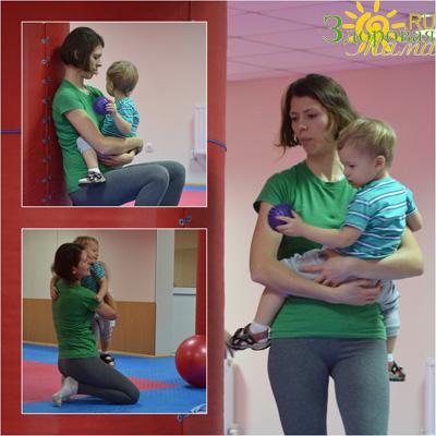 фитнес для мам с деткам